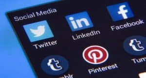 header image for blog post on improving social media performance with video