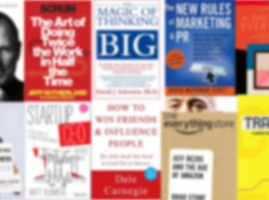 Header image for blog post on audiobooks for business people